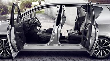 Opel Meriva - FlexDoors® Sistemi