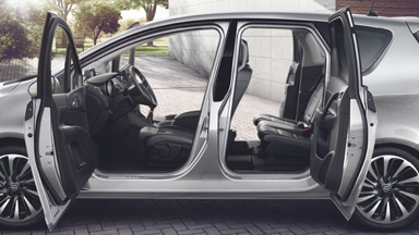 Opel Meriva - FlexDoors®