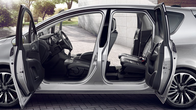 Opel Meriva - FlexDoors
