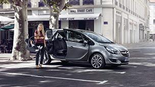 Новый Opel Meriva - Эргономика