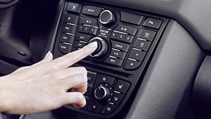 Новый Opel Meriva - Информационно-развлекательная система