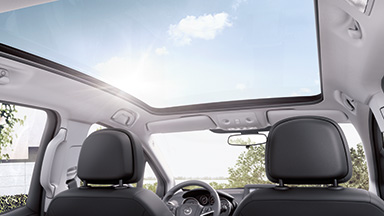 Opel Meriva - Trapă de pavilion panoramică