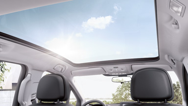 Opel Meriva - Panoramadach