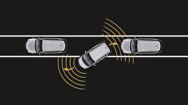 Opel Meriva - Aide au stationnement