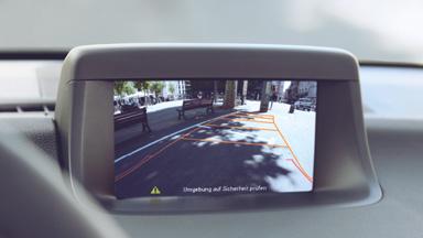Opel Meriva - Cameră video pentru marşarier