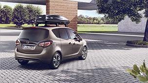 Opel Meriva - Portbagaj de acoperiş Thule