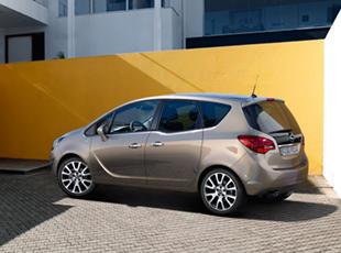 Opel Meriva Affaires marron extérieur Design