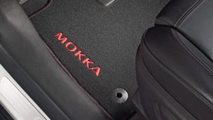 Opel Mokka détail Tapis de sol velours