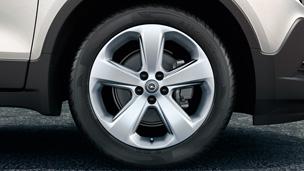 Opel Mokka détail Jantes Alliage 18''