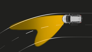 New Opel Mokka - Adaptive Forward Lighting (AFL+)