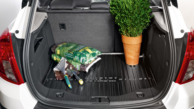Opel Mokka - Luggage Compartment