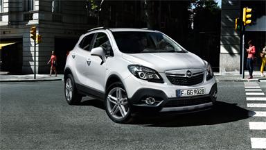 Opel Mokka - Pasivna sigurnost