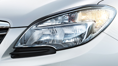 New Opel Mokka - High Beam Assist for Halogen Headlamps