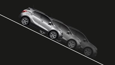 Opel Mokka Aide au contrôle dans les descentes et Aide au démarrage en côte