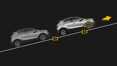 Opel Mokka - Hill Start Assist