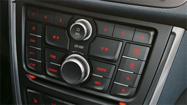 Opel Mokka détail Système CD450 MP3