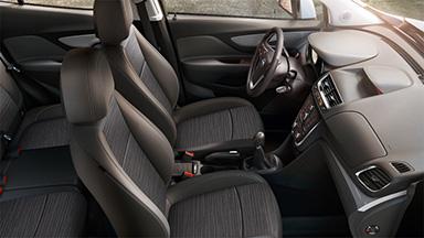 Opel Mokka – drive! Интериорен дизайн