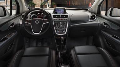 Новый Opel Mokka — дизайн интерьера
