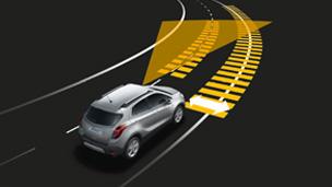Новый Opel Mokka — системы безопасности и помощи водителю