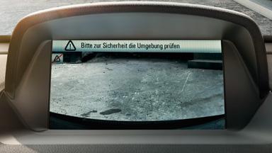 Opel Mokka détail caméra de recul