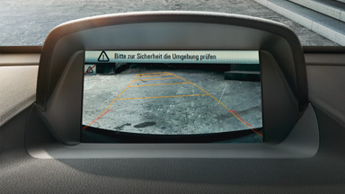 Yeni Opel Mokka – Geri Görüş Kamerası (RVC)