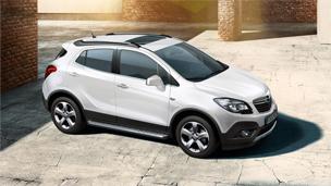 Opel Mokka blanche extérieur Design