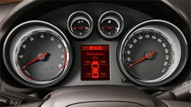 Opel Mokka Capteur de pression des pneumatiques (TPMS)