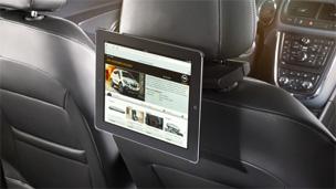 Opel Mokka détail Support iPad