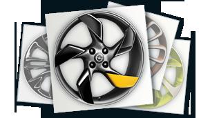 New Opel ADAM - Wheels