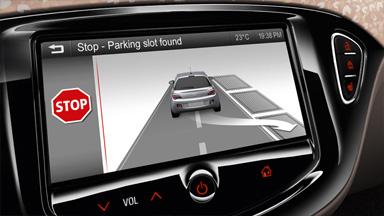 Opel ADAM détail aide au stationnement