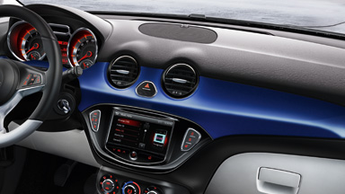 New Opel ADAM - Interior Design