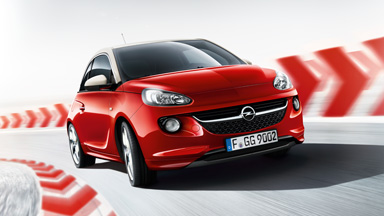 Opel ADAM rouge extérieur