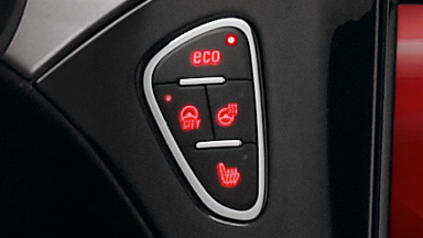 Opel ADAM intérieur technologie Start/Stop