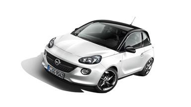 Opel ADAM blanc extérieur White Pack
