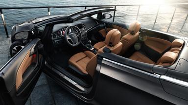 Opel Cascada - Easy-Entry-Funktion