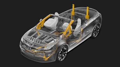 Yeni Opel Cascada - Rafine pasif güvenlik