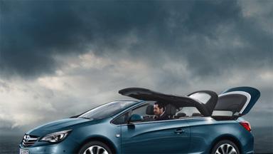 Opel Cascada – In nur 17 Sekunden unter freiem Himmel
