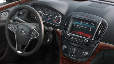Opel Insignia Country Tourer - Вътрешен дизайн