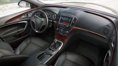 Opel Insignia Country Tourer - Stylistyka wnętrza