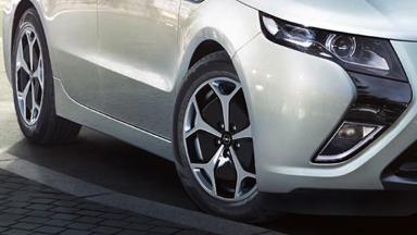 Der neue Opel Ampera - Vorderachse