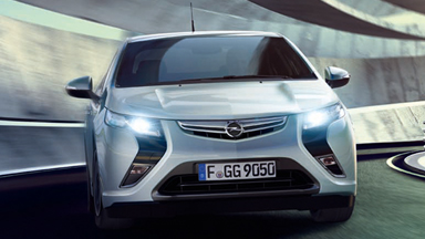 Der neue Opel Ampera - Fahrszene