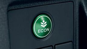 Le bouton ECON ajuste les paramètres du HR-V pour en améliorer le rendement énergétique.